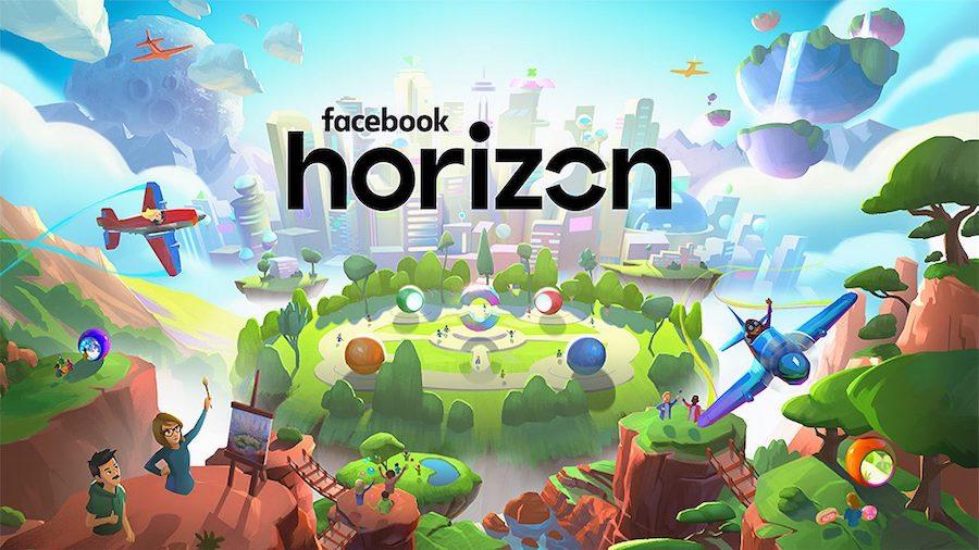 Imagen de la plataforma de realidad virtual de Facebook, Horizon
