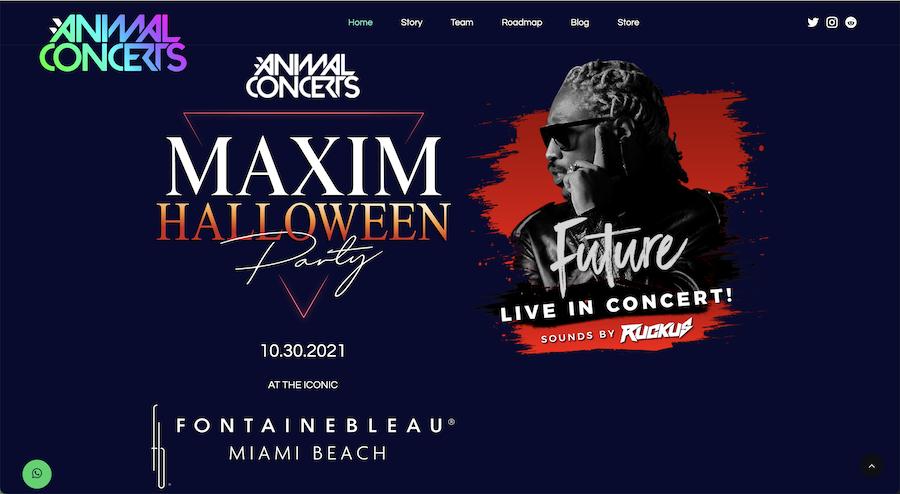 Afiche del concierto de Future