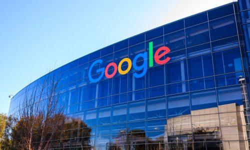 Foto de la fachada de un edificio de Google