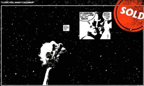 Imagen del cómic Sin City
