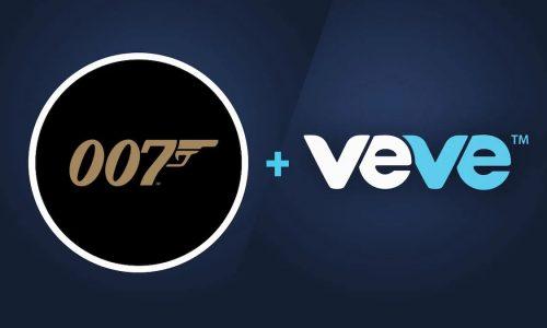 Logos de James Bond y Veve